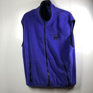 Holloway Kansas State Fleece Vest XL